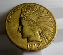 1912 $ 10 Gold Indian Eagle