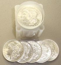 1921  BU Morgan Dollars in Roll