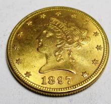 1897 P $10 w/ Original Mint Luster Gold Liberty
