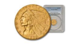 1925 D $ 2.5 Gold Indian PCGS
