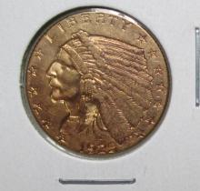 1925 D $ 2.5 Gold Indian High Grade