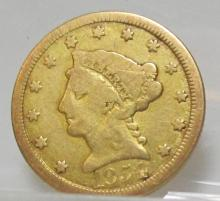 1854 O $ 2.5 Gold Liberty