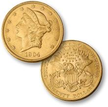 1904 $ 20 Gold Double Eagle High Grade