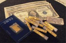 Collectors Lot- Gold and Silver - Pamp-Bar