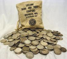 Bag of 500 Morgans- 90% Silver - Possible Key Dates