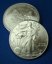 Silver Eagle- 1 oz. .999 Silver-