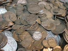 Lot of 5$ Silver Coinage- 90% SIlver Mix