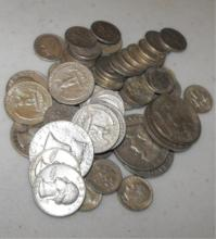 Lot of $10 Face Value 90% Silver Mix