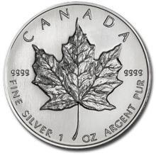 1 oz Silver Maple Leaf Bullion