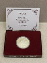 1982 PROOF Washington Half Dollar Commemorative