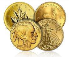 Gold Bullion Selection - Buf-Eagle-Krug-Maple