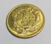 1873 $1 Princess Gold Coin