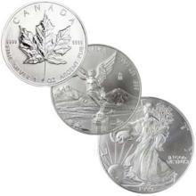 North American Silver Lot - Random Dates