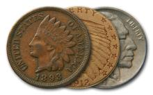 Native American Themed US Coins (3)