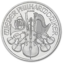 1 oz. Silver Austrian Philharmonic Bullion