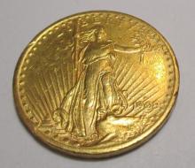 1909 S Better Date $ 20 Gold Saint Guaden's