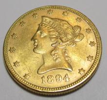 1894 BU $ 10 Gold Liberty Eagle