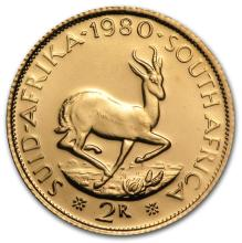 1979 2 Rand South African Gold