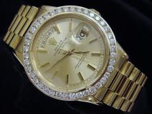 3 ct Diamond Bezel ROLEX Presidential $40,000