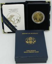 2009 US Gold Buffalo Proof in Mint Case