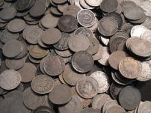 Lot of (100) V Nickels AG - G
