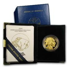 2006 Gold Buffalo Proof in Mint Case