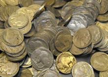 (100) RD Buffalo / Indian Head Nickels