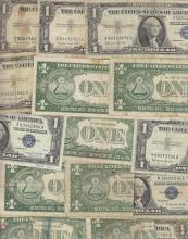 Lot of 100 Silver Certificates - Circulated