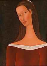 Roman Zakrzewski (1955 - 2014) Female Portrait, 2003