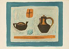Henryk Hayden (1883 - 1970) Still Life with Jugs and Lemon