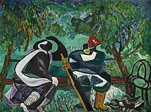 Estera Karp (Carp) (1897 - 1970), Two Figures