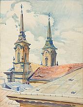 Kazimierz Holewinski (1904 - 1957), Pijar Church in Warsaw, 1928