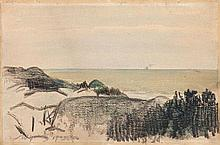 Leon Wyczolkowski (1852 - 1936), Landscape, 1923