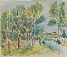 Henryk Epstein (1891 - 1944) Landscape