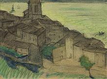Leopold Gottlieb (1879 - 1934) City View