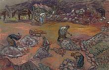 Jean Peske / Jan Miroslaw Peszke (1870 - 1949) Stonemasons