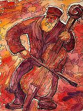 Chaim Goldberg (1917 - 2004) Concert, 1971