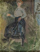 Jacek Malczewski (1854 - 1929) Portrait of Woman, 1909