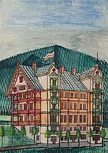 Nikifor Krynicki (1895 - 1968) House in Krynica