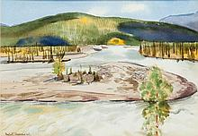 Rafal Malczewski (1892 - 1965) Landscape