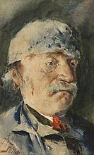 Julian Falat (1853 - 1929) Portrait of Man