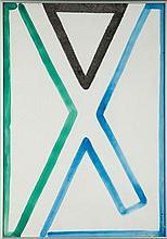 Stefan Gierowski (b. 1925) Untitled, 1997
