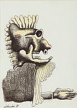 Jan Lebenstein (1930 - 1999) Composition, 1971