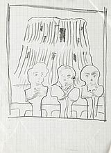 Jan Lebenstein (1930 - 1999) Untitled
