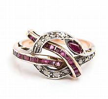 Ring with snake motif, Interwar Period