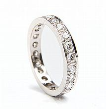 Ring in Cartier type, 20th Century