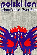 Jerzy Treutler (b. 1931) Polish linen, 1972