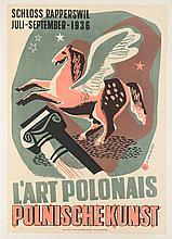 Antoni Wajwod (1905 - 1944) L'art Polonais Polnische Kunst, 1936
