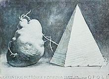 Franciszek Starowieyski (1930 - 2009) No-Divine Comedy, 1982