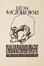Jan Jerzy Wroniecki (1890 - 1948) Leon Wyczolkowski - exhibition poster, 1932